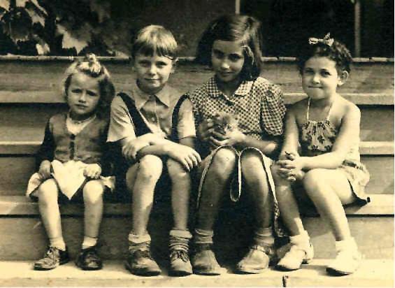 Scattergood Hostel children